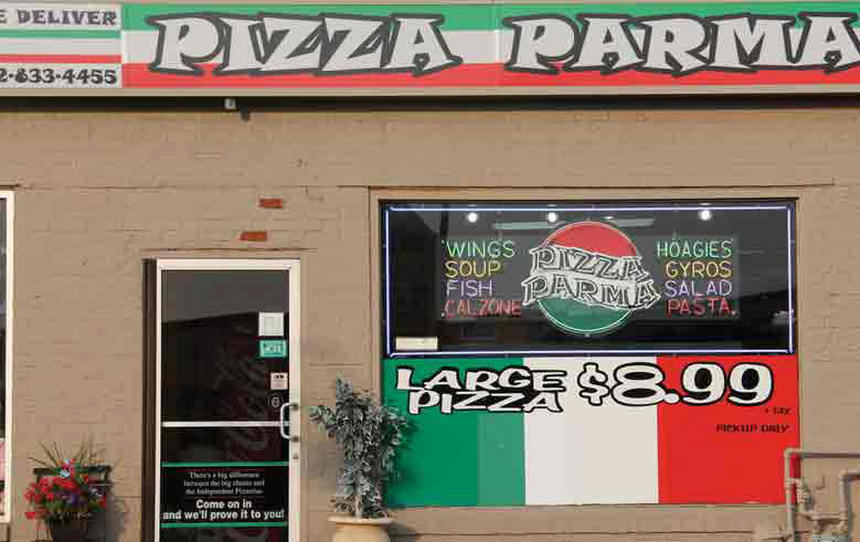 Pizza Parma Pizza_Parma_UpperStClair_Location Menu