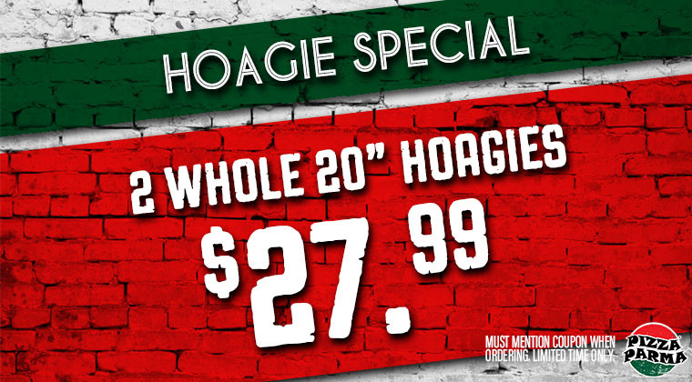 Pizza Parma HoagieSpecial Specials & Coupons
