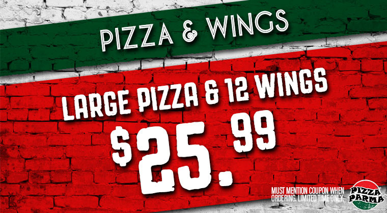 Pizza Parma PizzaWing Specials & Coupons